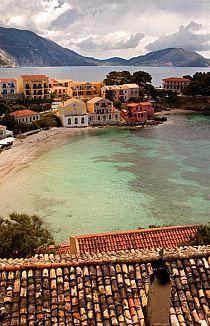 Assos en Cefalonia, Grecia.