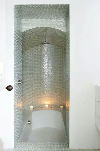 Demais cia de banheiros pinterest chuveiros banho - Bathroom shower designs small spaces ...