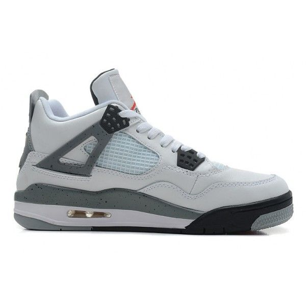 314ab0f6594 ... Footlocker Find Air Jordans 4 Retro WhiteBlack-Cement Grey Shoes Sale  For Fall online or in ...