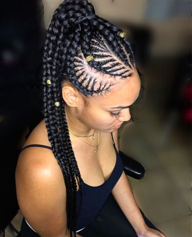 Strange 1000 Images About Cute Cornrow Braids On Pinterest Mohawks Hairstyles For Women Draintrainus