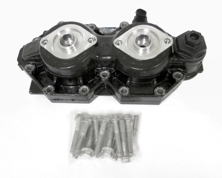 2000 Evinrude FICHT Outboard Cylinder Head PORT #90hp #115hp #5001257 #346892 #Evinrude #2000 #FICHT #Outboard #Port #CylinderHead #michiganfreshwatermarine
