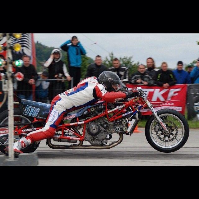Herman Jolink Ducati Drag Bike