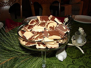 PEANUT BUTTER CHOCOLATE SWIRL BARK | Cookies, Cakes, Sweets etc | Pin ...