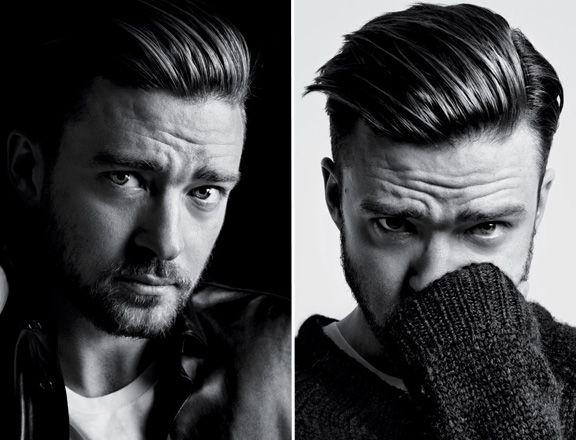 Hedi Slimane Shoots Justin Timberlake for 'T Magazine' | MTV Style