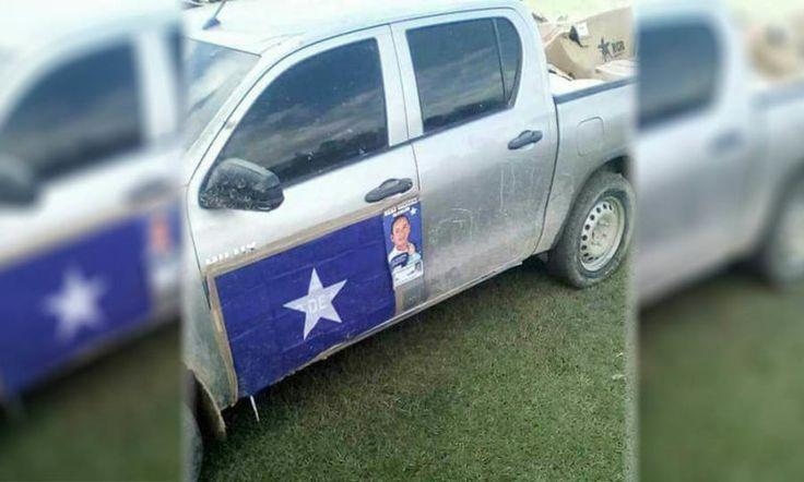 Honduras: Abusivo alcalde nacionalista pide el voto en carros públicos