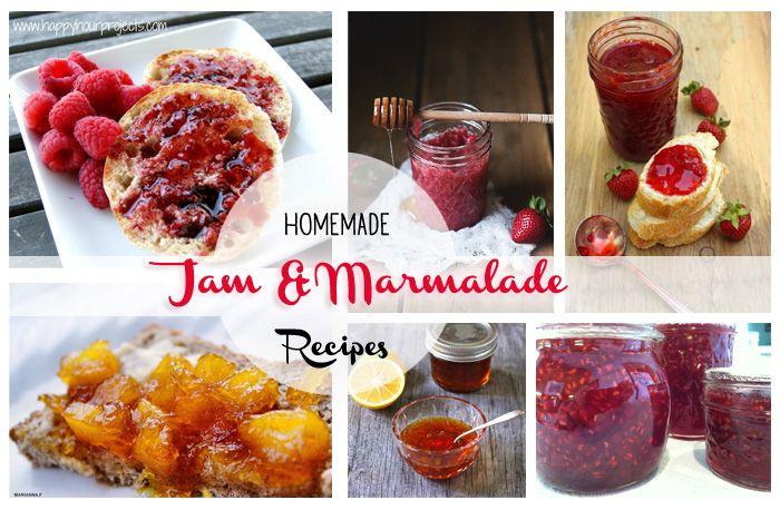 Homemade Jam & Marmalade Recipes !