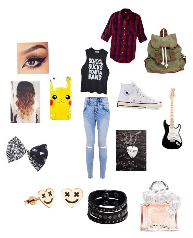 """Heartbreak girl"" by masterofdolls on Polyvore featuring interior, interiors, interior design, home, home decor, interior decorating, Aéropostale, Converse, Wet Seal and claire's"
