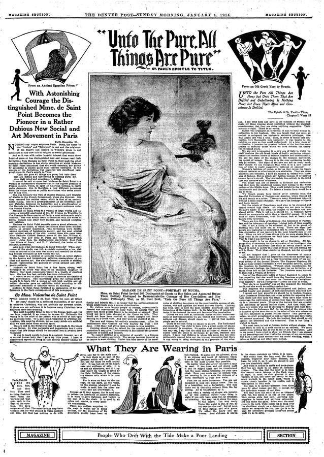 Alfons Maria Mucha / The Denver Post