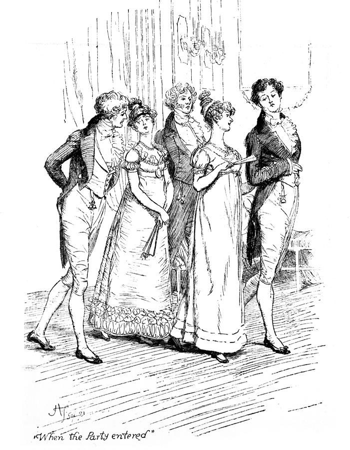 characters in pride and prejudice by jane austen In pride and prejudice, written by jane austen, austen uses mr bennet to help  develop the  one of mr bennet's most meaningful contributions to the character   in pride and prejudice, elizabeth bennet learns a hard lesson by basing her.