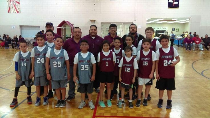 Upwards Basketball 4-6th graders. Spurs vs Mavericks.