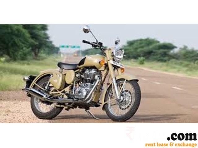 Bike (ROYAL ENFIELD DESERT STORM) on rent in Pune