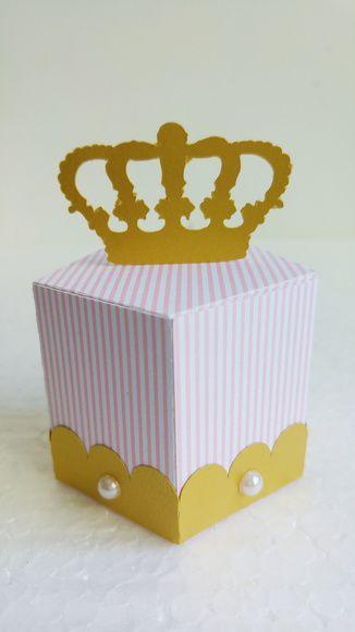 Caixa Coroa - Princesa