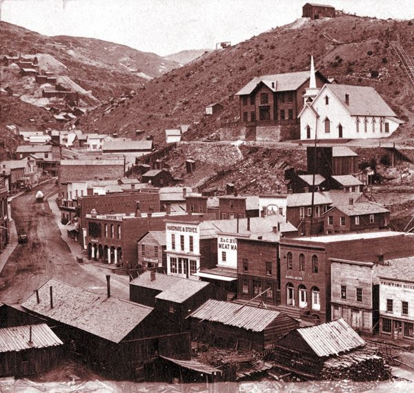 1870 One Of The First Gold Mining