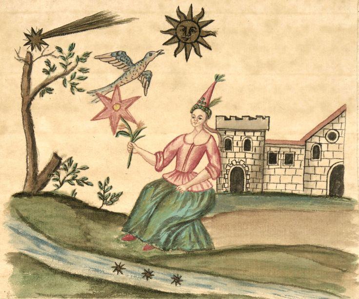 Image from: Clavis Artis, Ms-2-27, Trieste, Biblioteca Hortis, vol. 2, p. 135.