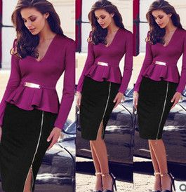 Grátis frete chegada nova Blazer ternos de negócio ternos formais escritório de trabalho roupas de manga longa ternos com saias para as mulheres em Ternos com Saia de Roupas e Acessórios Femininos no AliExpress.com   Alibaba Group