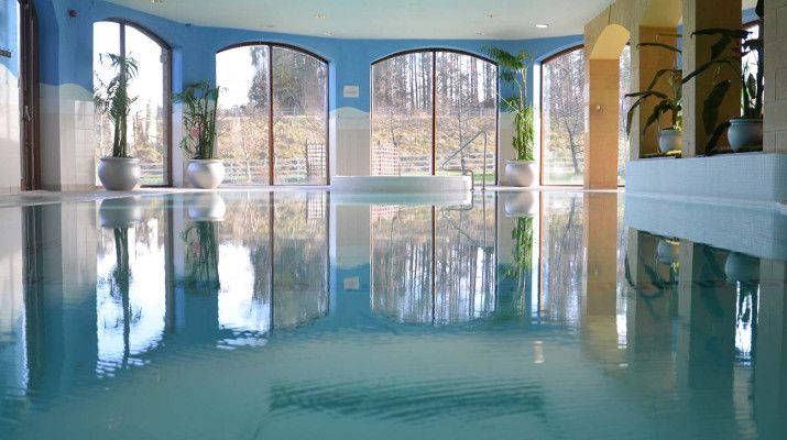 The swimming pool of the 4* ;ill park Hotel, Co. Donegal