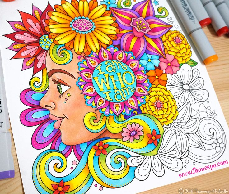 live for today coloring book by thaneeya mcardle httpswwwamazon - Coloring Book Fun