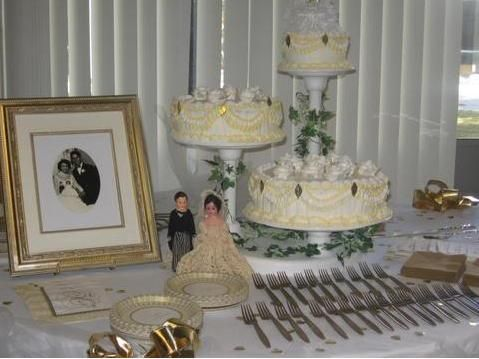 Pin by angela smith on 50th wedding anniversary ideas for Anniversary decoration ideas 50th