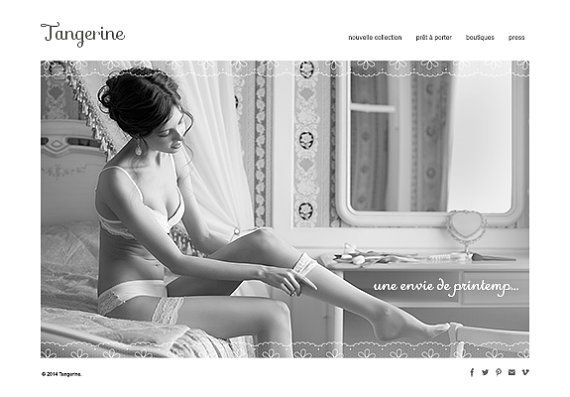 5 page web design concept fashion designer by designauctionsnow