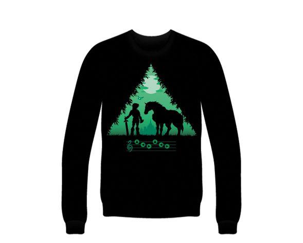 Pedestal of Time design for Sweatshirts, Hoodies, T-Shirts, etc. Shop now at https://www.unamee.com! #Zelda #ZeldaGame #ZeldaShirts