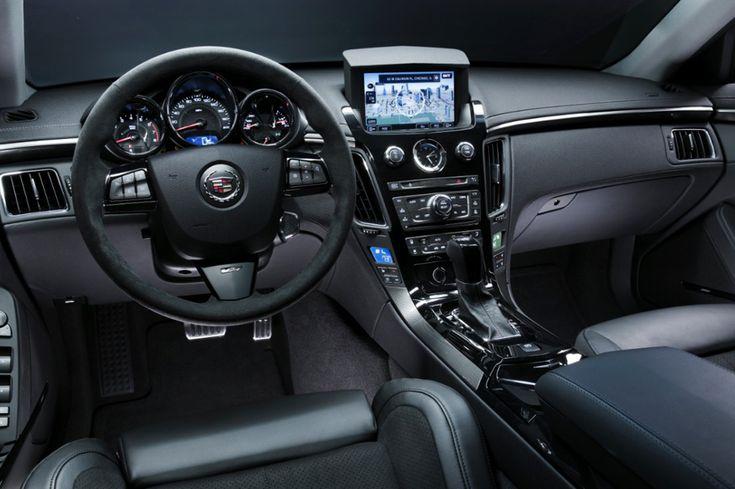 2008 Cadillac CTS AWD interior