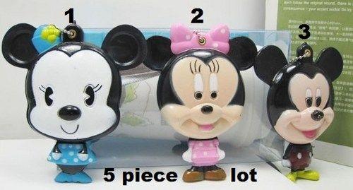 Cartoon 5 piece lot mickey compact mirror great for diy bling deco | chriszcoolstuff - Craft Supplies on ArtFire