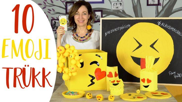 EMOJIS VIDEÓ?!?  10+1 Kreatív Emoji Trükk! - INSPIRACIOK.HU | Csorba Anita