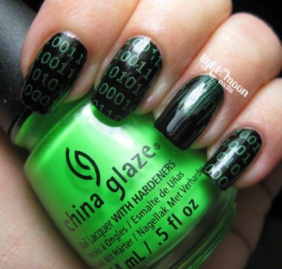 Mejores 46 imágenes de Geek Nails en Pinterest | Decoración de uñas ...