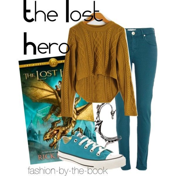 Outfit inspired by The Lost Hero by Rick Riordan (The Heroes of Olympus series)