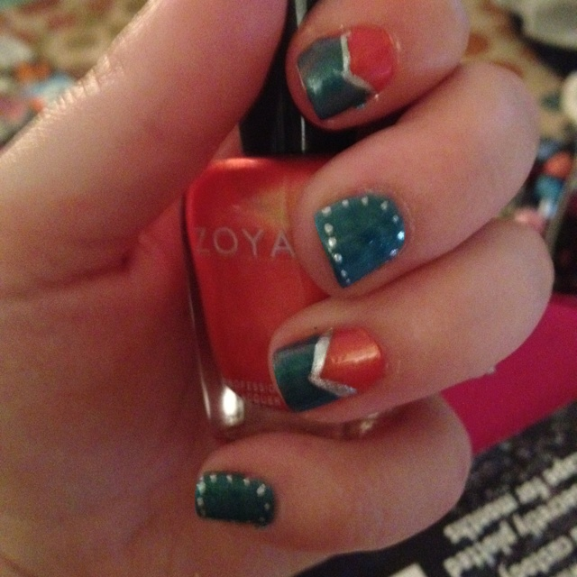 15 best nail art images on Pinterest   Dolphin nails, Miami dolphins ...