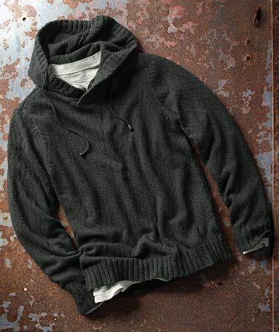 Effortlessly Cool Men's Hoodies - Noir Hoodie - Carbon2Cobalt