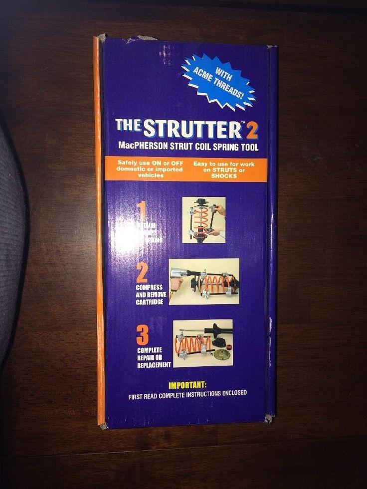 Matco Tools  Strutter 2 MacPherson Strut coil spring tool CC63000  NEW #MatcoTools