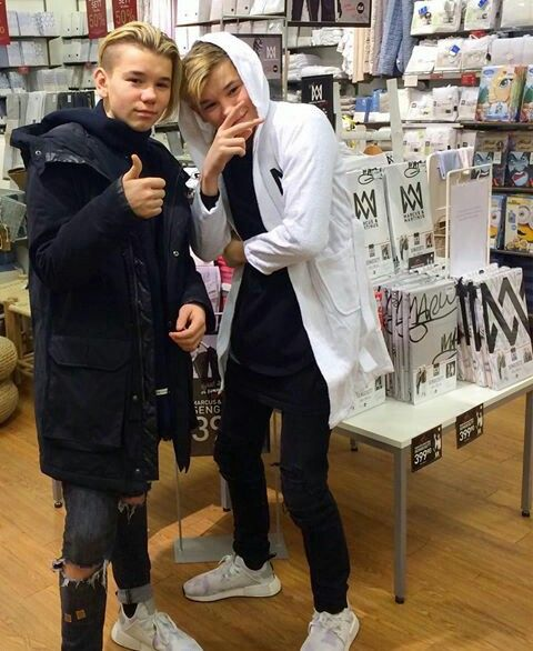 In love w/ Marcus and Martinus. They are bae
