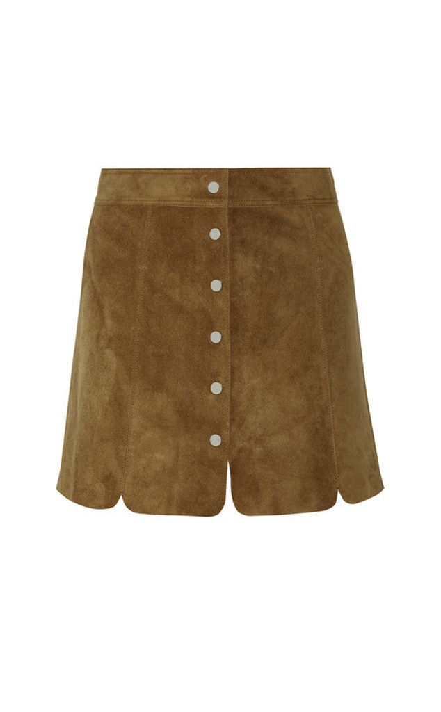 Car Wash Slit from Slits: Red Carpet to Real Way  Étoile Isabel Marant Anna Suede Mini Skirt, $580