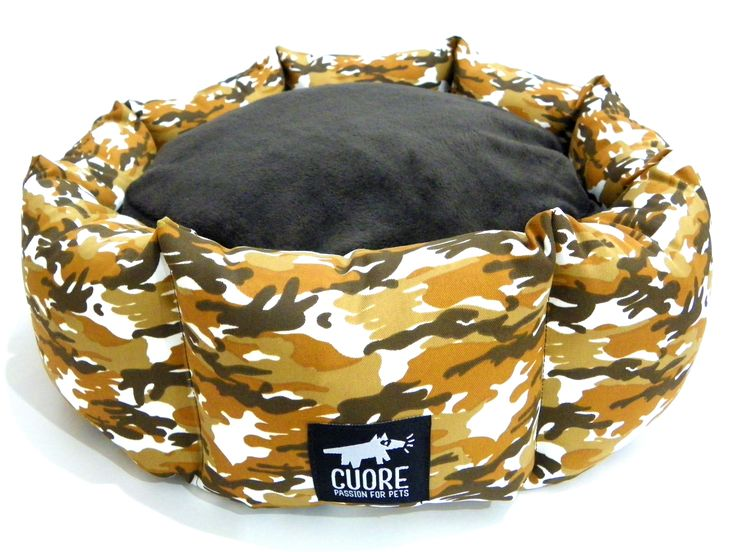 Army Donut. 1 unidad disponible en talla S #cuore #passionforpets #donutbed #dogbeds #beautiful #follow #ff