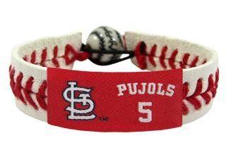 St. Louis Cardinals Albert Pujols Jersey Baseball Bracelet