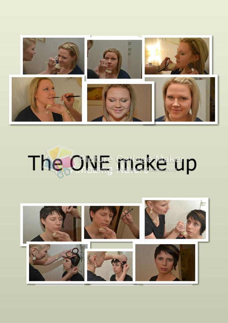Oriflame The One -make up. To Milla I used these The One Colour Impact Cream Eye Shadow: Golden Brown, Rose Gold and Beige Pearl. And Hanna has these The One Cream Eye Shadows: Olive Green, Shimmering Steel and Beige Pearl. They both had The One Power Shine Lipstick - with new Lip Kiss Complex.