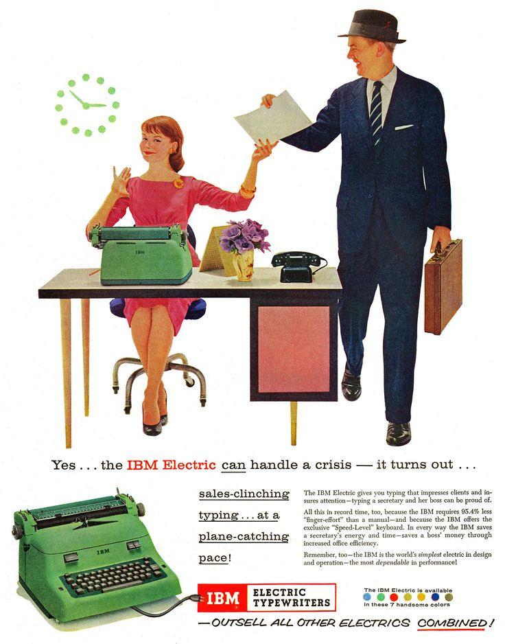 IBM Electric Typewriters, 1957