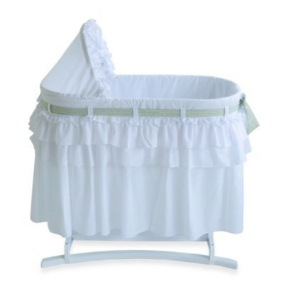 Lamont Home Good Night Baby Bassinet in White with Full Skirt Lamont Home http://www.amazon.com/dp/B00SWYQBYK/ref=cm_sw_r_pi_dp_J3xJvb1KD0HEB
