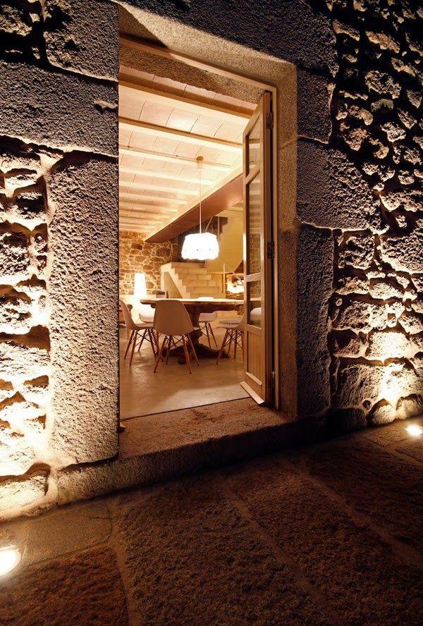 galicia cool magazine: Casa rehabilitada en Noutigos, A Coruña