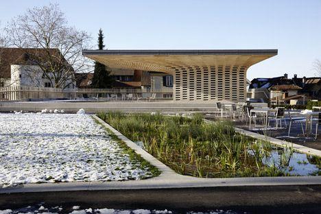 Wooden pavilion_Ramser Schmid Architekten_Zug