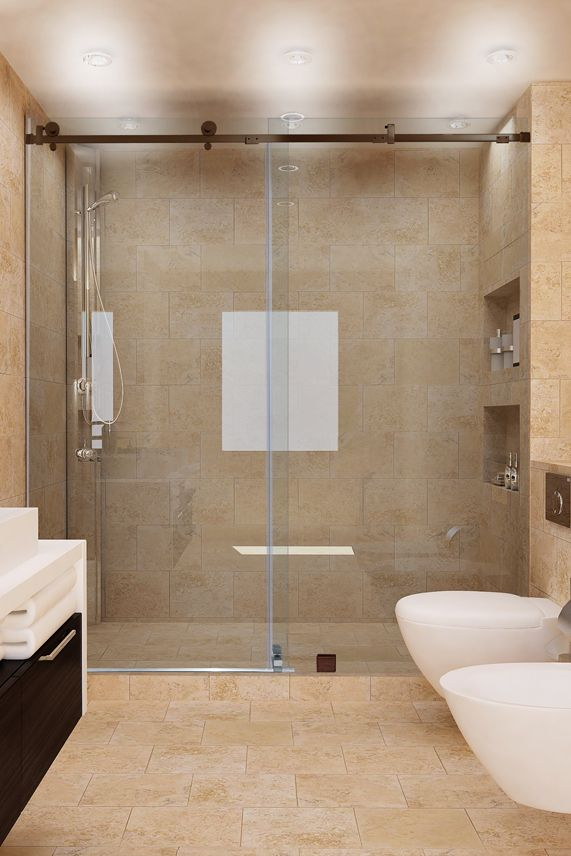 The Sleek Smooth Lines Of A Quadro Shower Door Make Up Our Latest Offering In The Sliding Shower Doo Shower Sliding Glass Door Shower Doors Glass Shower Doors