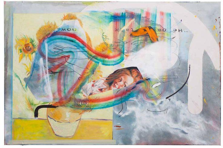 -Vincents- Öl auf Nessel, 120 x 180cm, Endy Hupperich