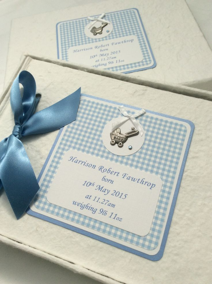 Personalised New Baby Album, £17.99 available from:    https://folksy.com/shops/AnyOccasion