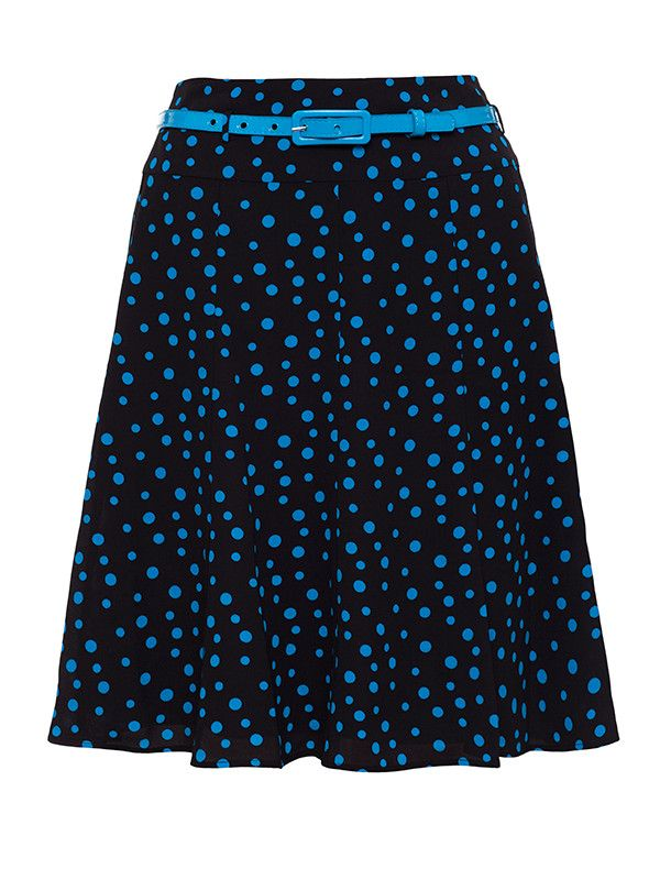 Dots And Spots Skirt Skirts by Review