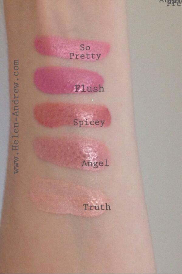 Daniel Sandler watercolour blush swatches! #makeup #bbloggers