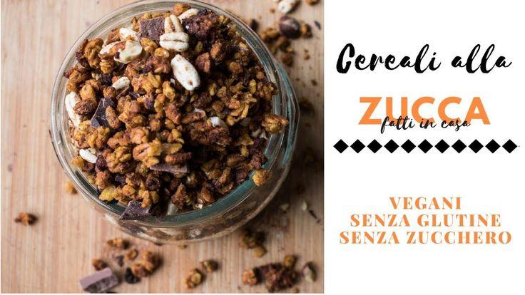 Cereali fatti in casa alla zucca |SENZA ZUCCHERO| SENZA GLUTINE
