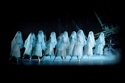 The Royal Ballet.  This is Giselle Act Two.