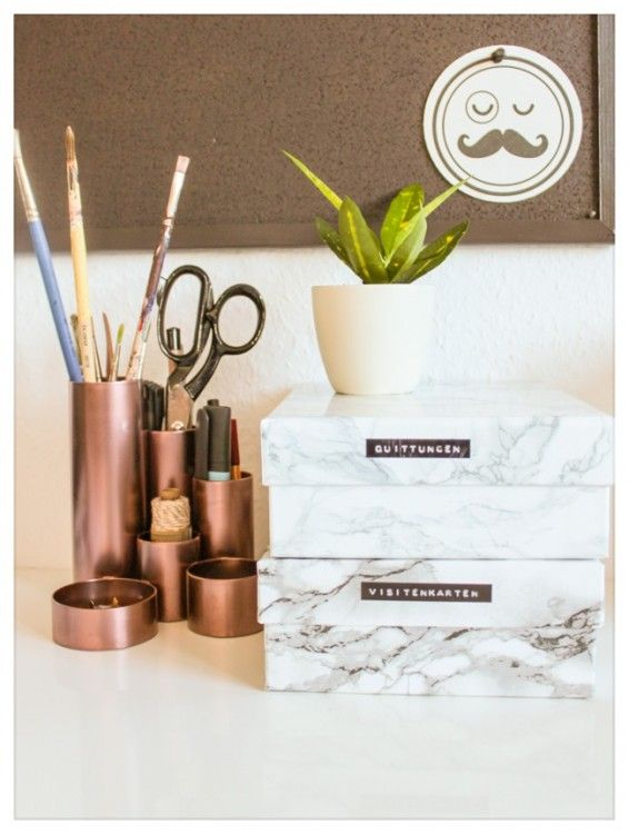 Marmorschachteln DIY