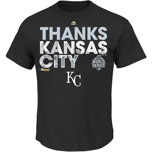 Kansas City Royals 2015 World Series AC Official Parade T-Shirt - MLB.com